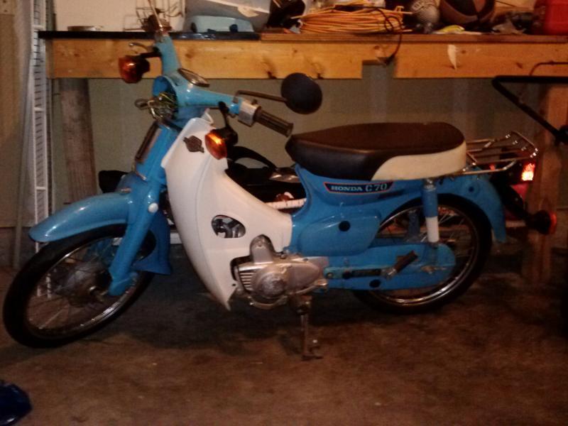 1980 honda c70 wiring 1980 honda c70 passport project motorcycle forum  1980 honda c70 passport project