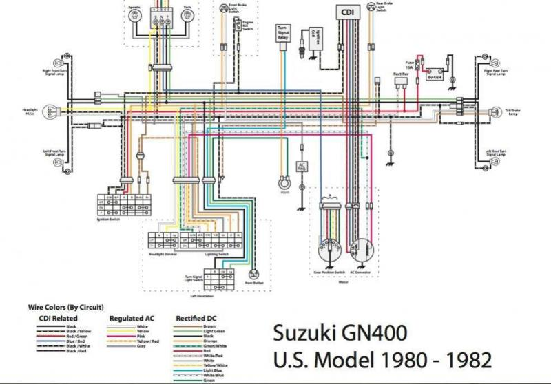 gn400 suzuki 6v stator wiring information needed. | Motorcycle ForumMotorcycle Forum