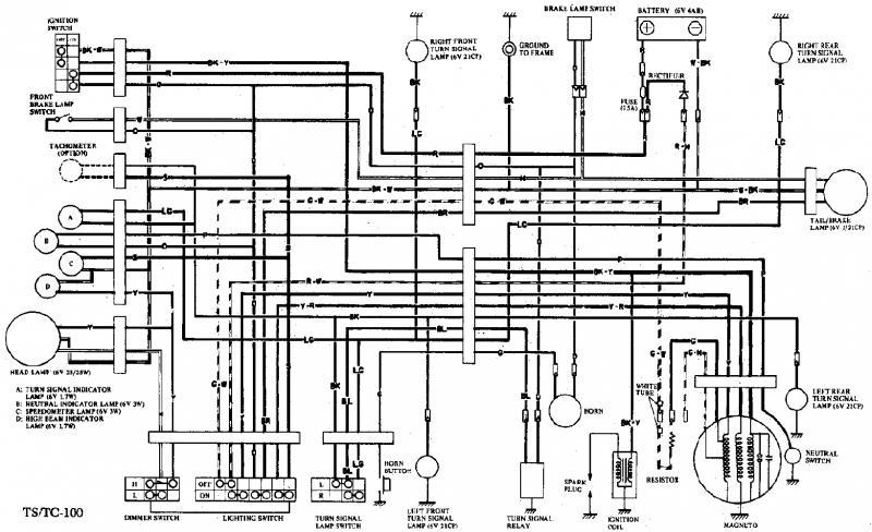Suzuki Turn Signal Wiring Diagram